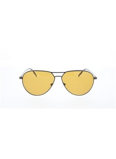 Ermenegildo Zegna  Ez 0129 02E Erkek Güneş Gözlüğü Sarı